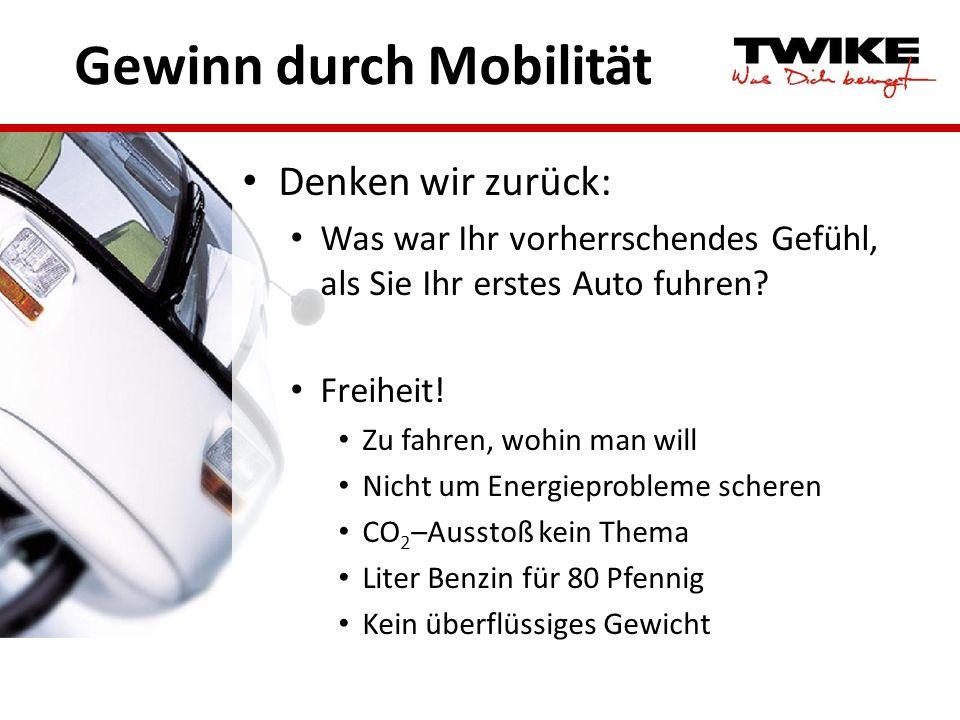 Gewinn durch Mobilität