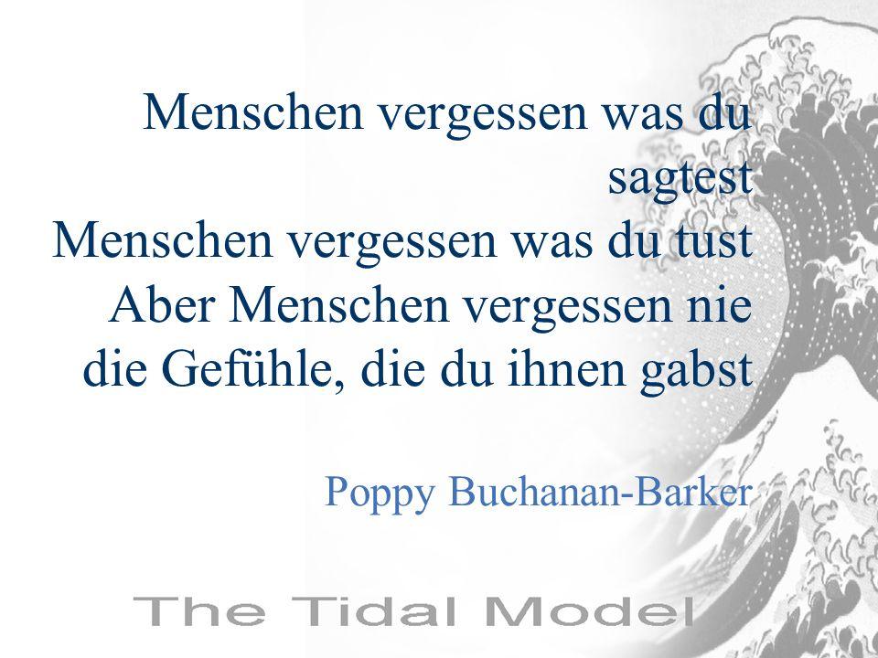 Menschen vergessen was du sagtest Menschen vergessen was du tust Aber Menschen vergessen nie die Gefühle, die du ihnen gabst Poppy Buchanan-Barker
