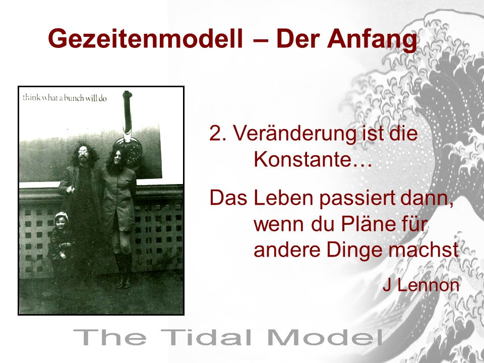 Gezeitenmodell – Der Anfang