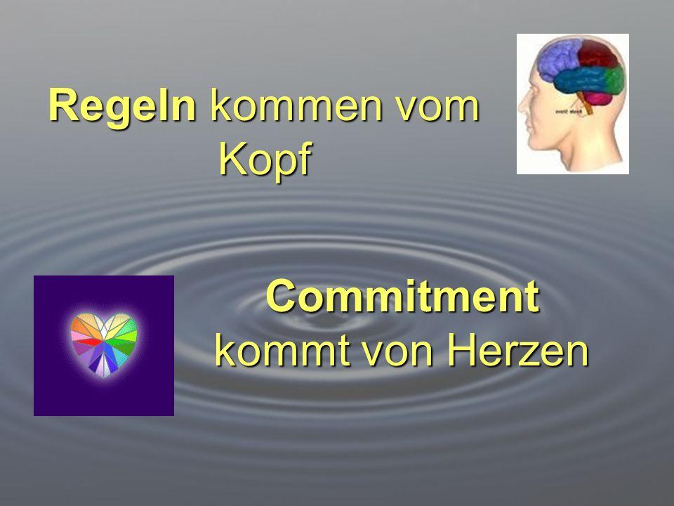 Commitment kommt von Herzen