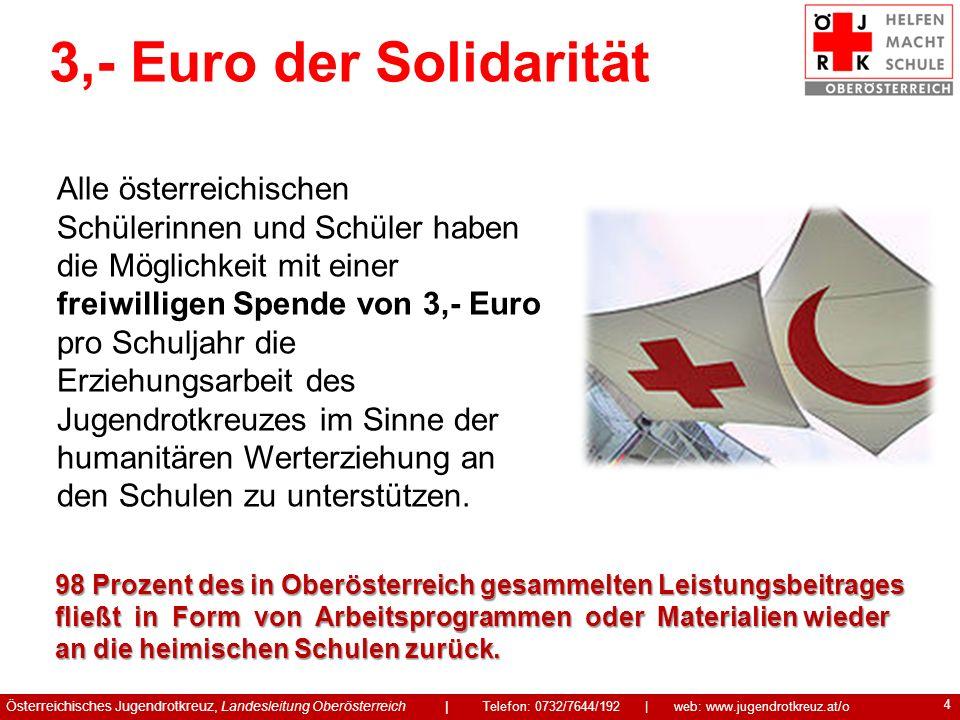 3,- Euro der Solidarität