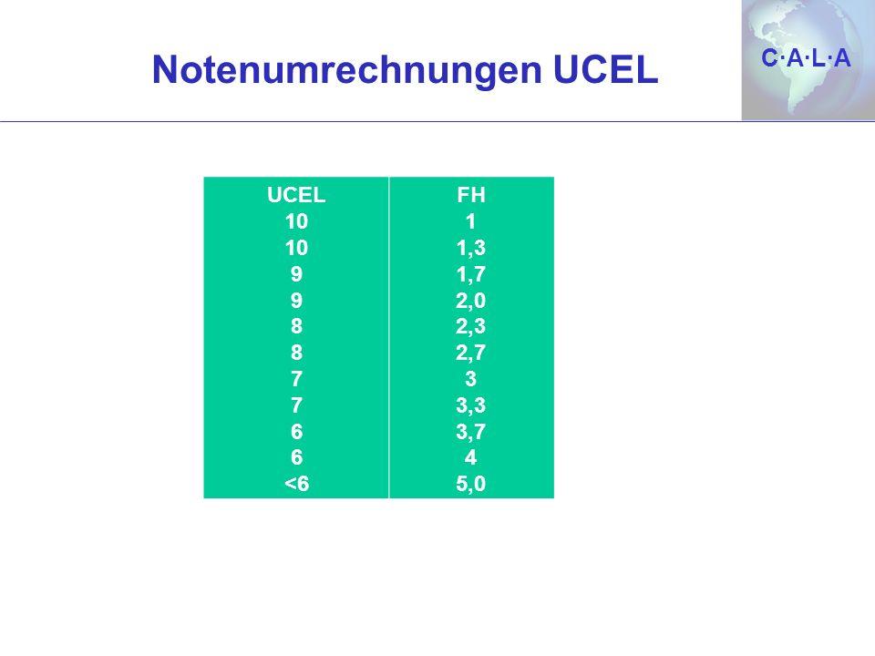 Notenumrechnungen UCEL