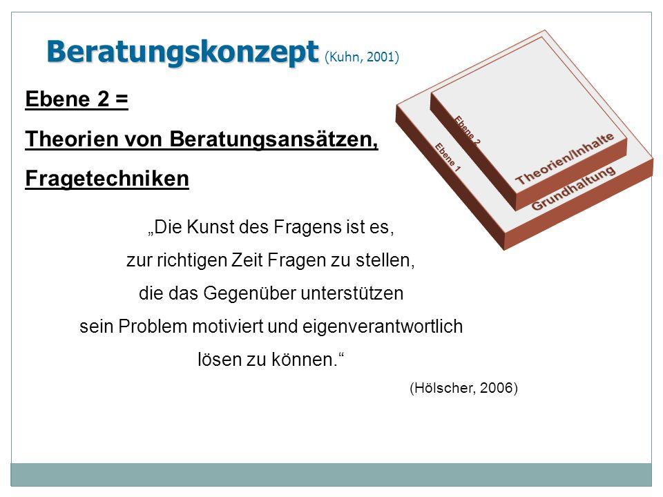 Beratungskonzept (Kuhn, 2001)