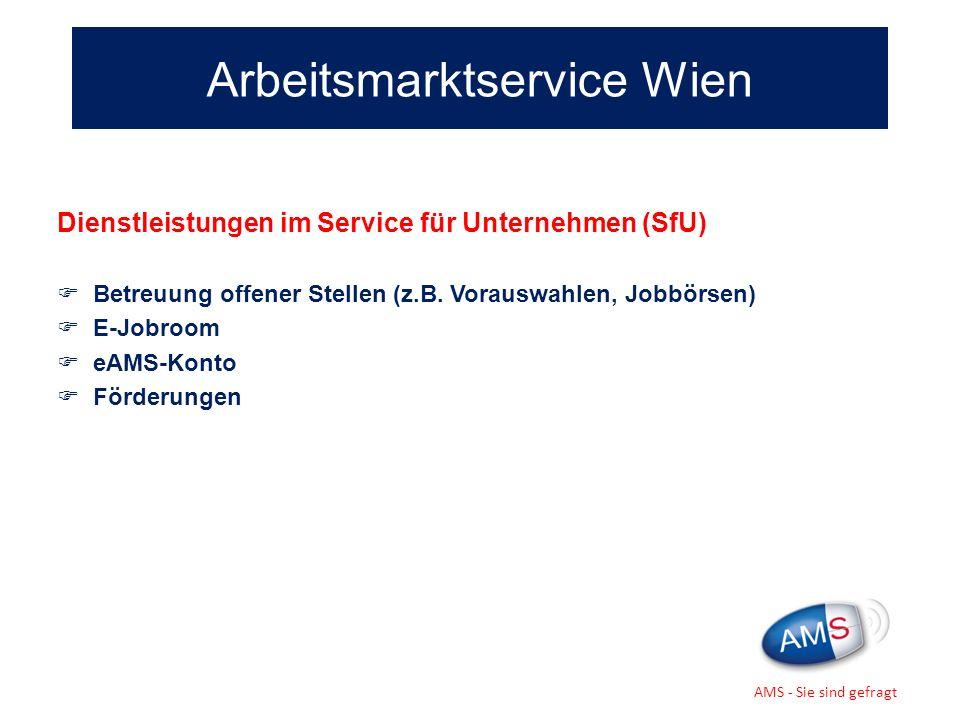 Arbeitsmarktservice Wien