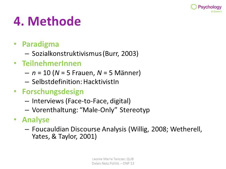 Leonie Maria Tanczer, QUB Daten.Netz.Politik – DNP 13