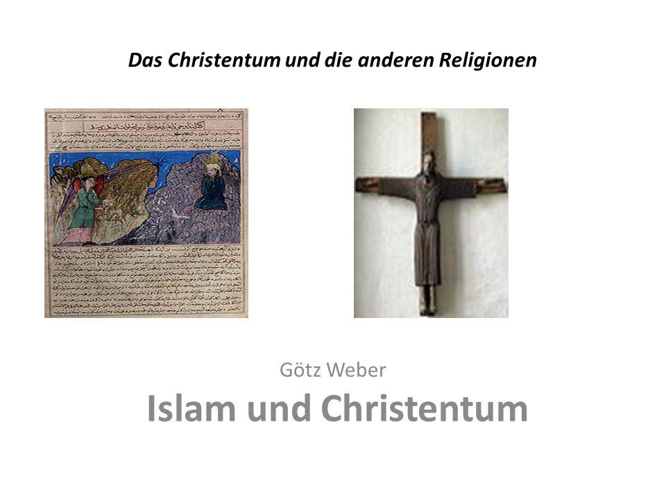 Das Christentum und die anderen Religionen