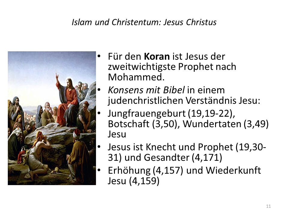 Islam und Christentum: Jesus Christus