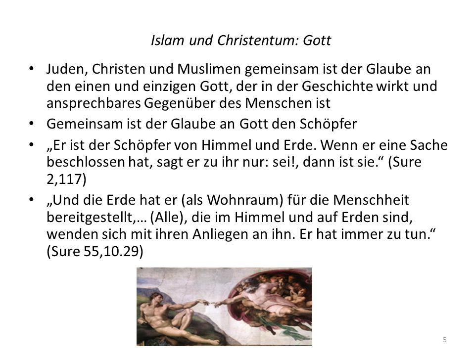 Islam und Christentum: Gott