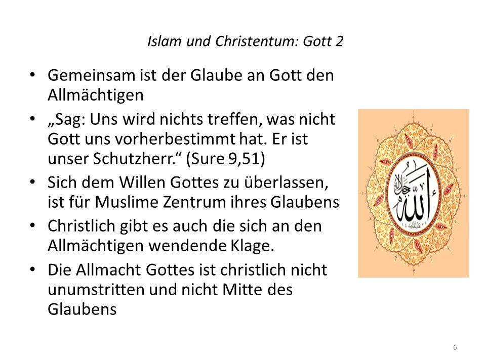 Islam und Christentum: Gott 2