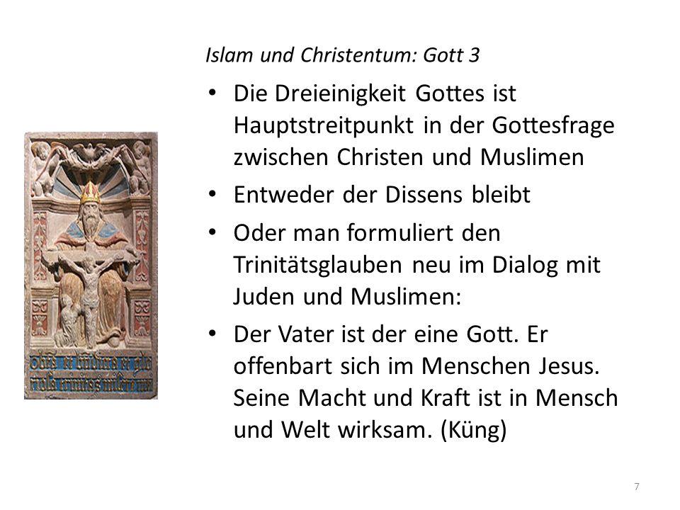 Islam und Christentum: Gott 3