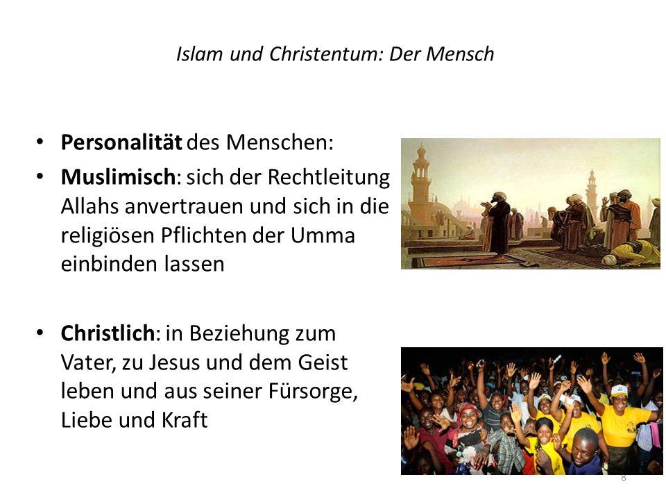 Islam und Christentum: Der Mensch