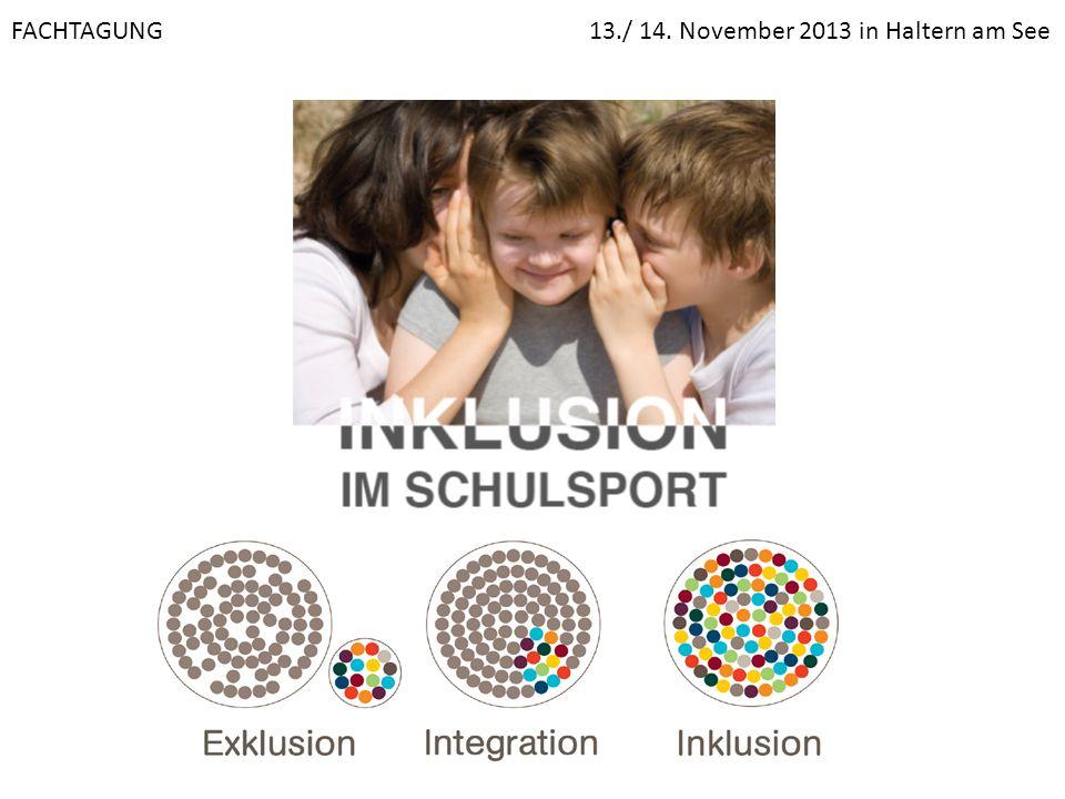 FACHTAGUNG 13./ 14. November 2013 in Haltern am See
