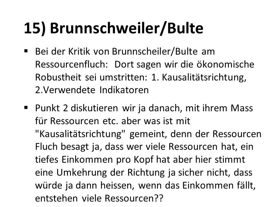 15) Brunnschweiler/Bulte