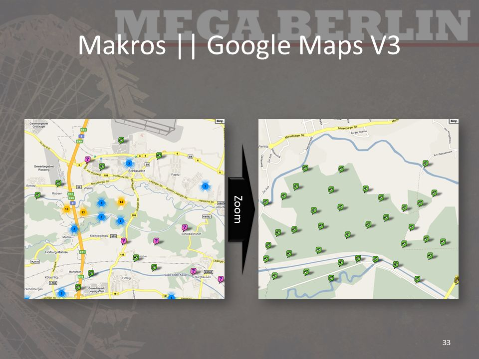Makros || Google Maps V3 Zoom