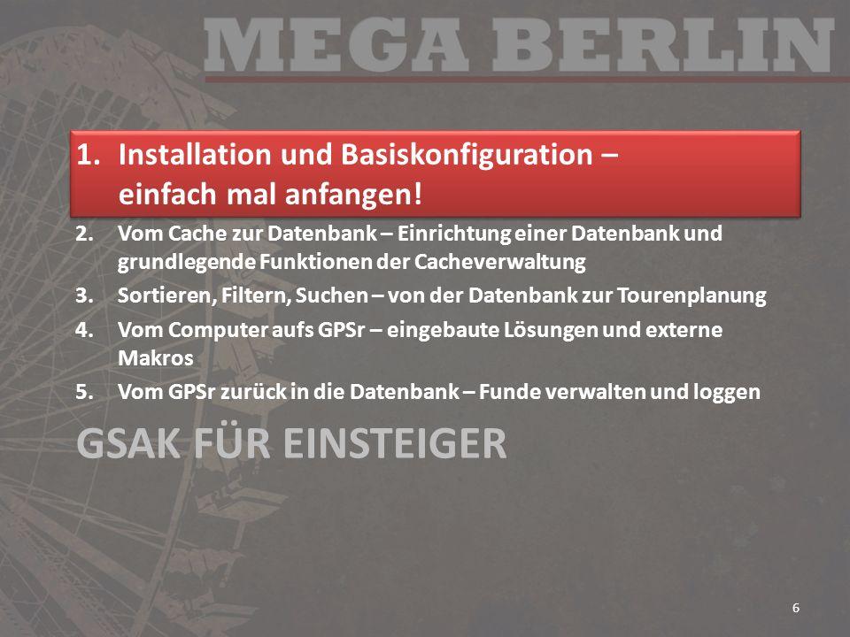 Installation und Basiskonfiguration – einfach mal anfangen!