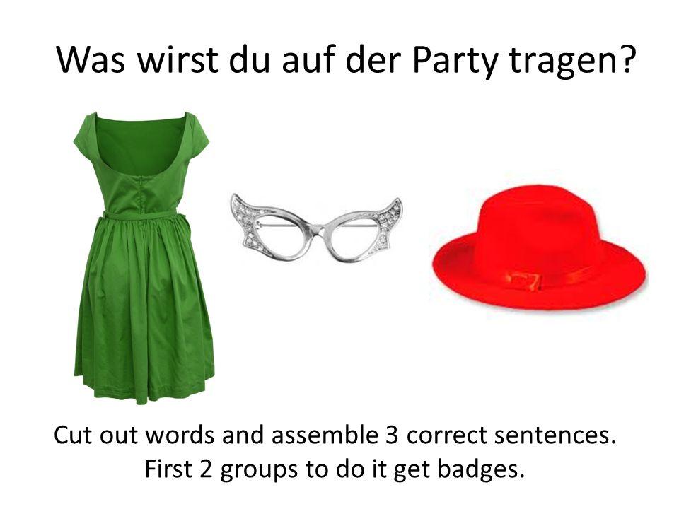 Was wirst du auf der Party tragen