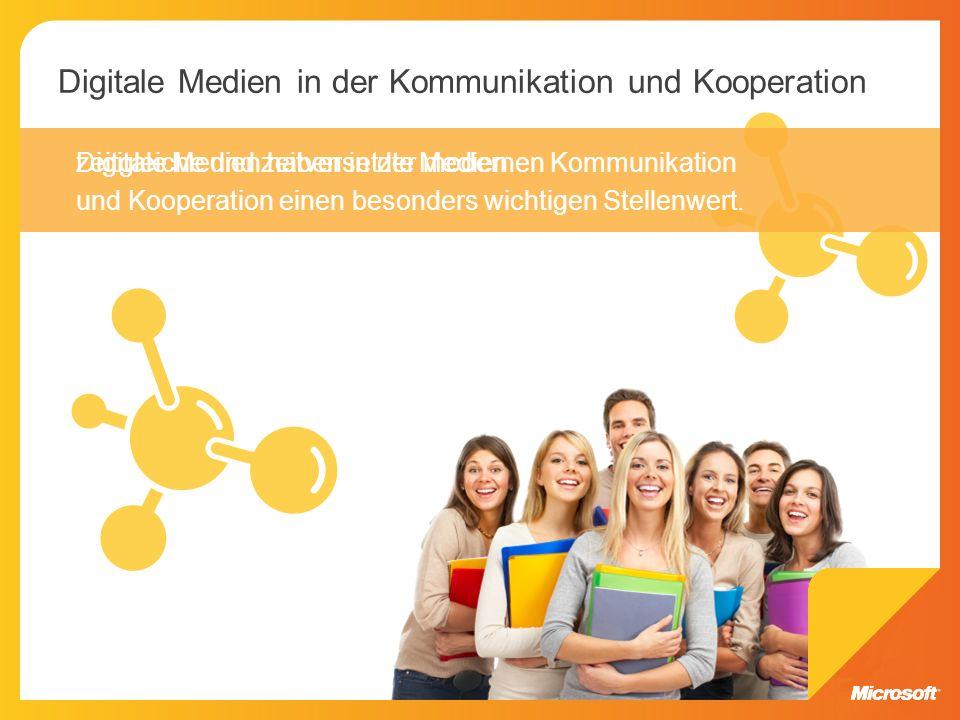 Digitale Medien in der Kommunikation und Kooperation
