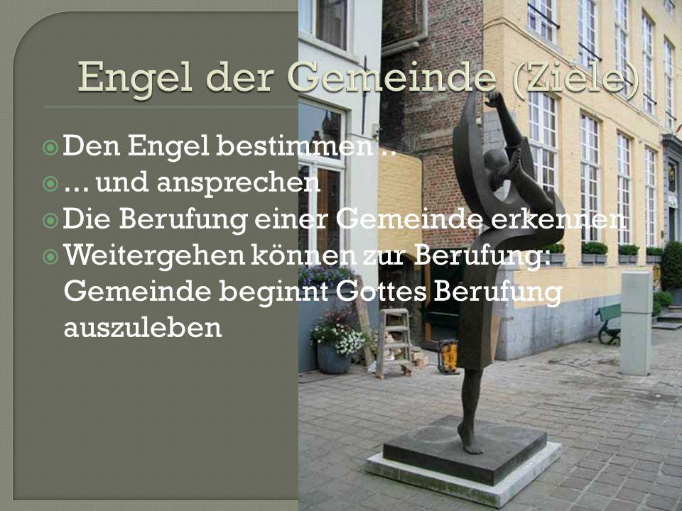 Engel der Gemeinde (Ziele)