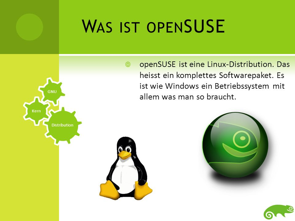 Was ist openSUSE
