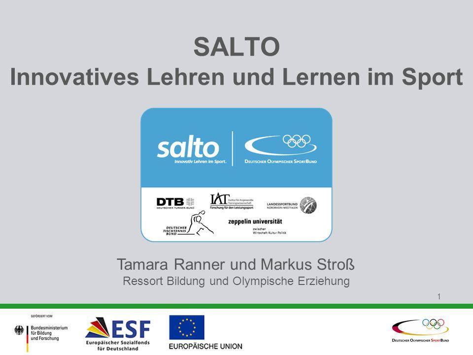 SALTO Innovatives Lehren und Lernen im Sport