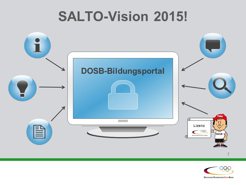 SALTO-Vision 2015! DOSB-Bildungsportal