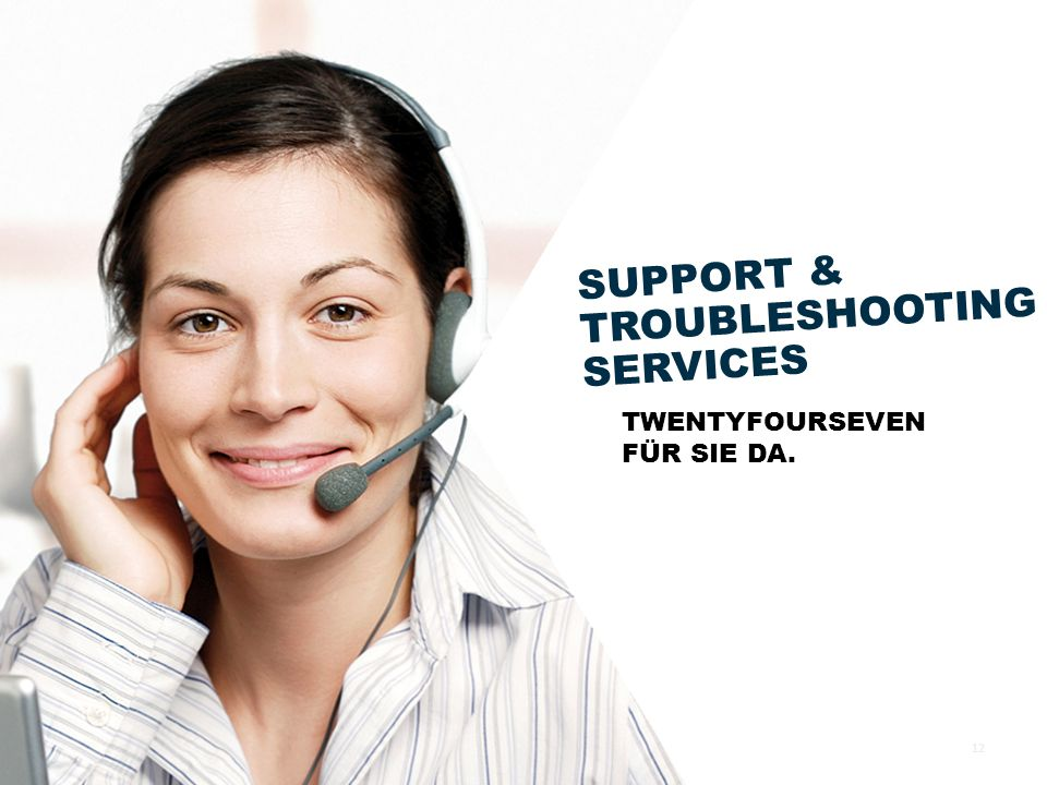 SUPPORT & TROUBLESHOOTING SERVICES