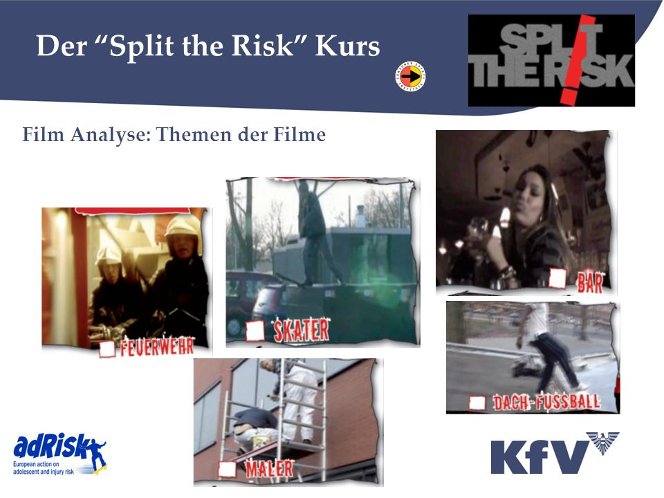 Der Split the Risk Kurs