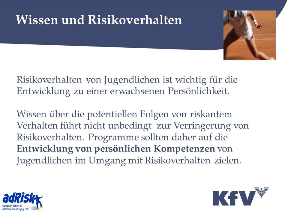 Wissen und Risikoverhalten