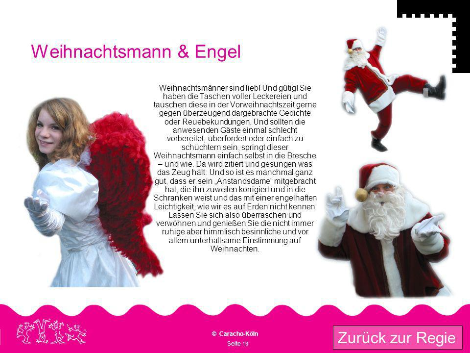 Weihnachtsmann & Engel