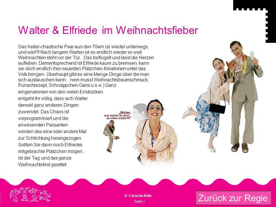 Walter & Elfriede im Weihnachtsfieber