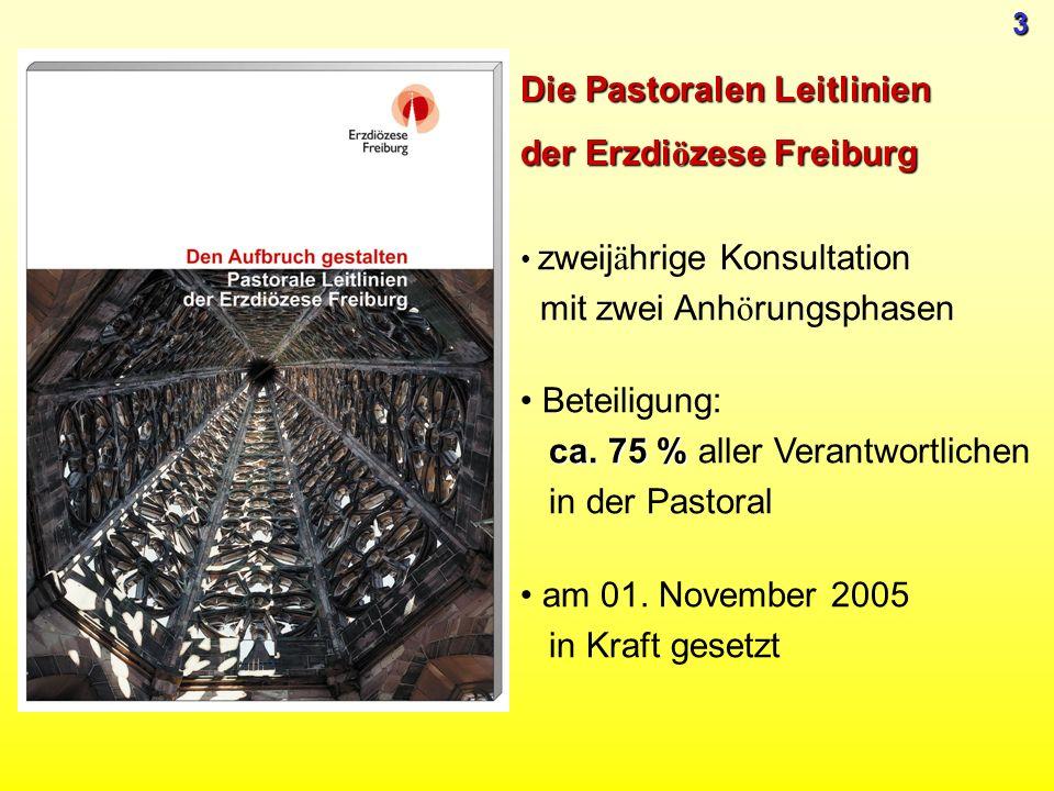 Die Pastoralen Leitlinien der Erzdiözese Freiburg