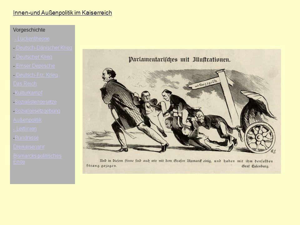 Innen-und Außenpolitik im Kaiserreich