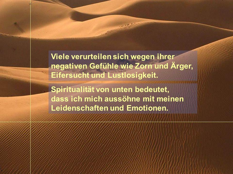 Viele verurteilen sich wegen ihrer negativen Gefühle wie Zorn und Ärger, Eifersucht und Lustlosigkeit.