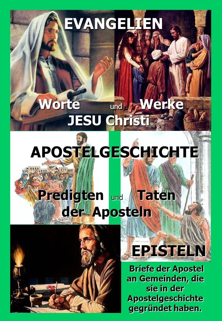 EVANGELIEN APOSTELGESCHICHTE