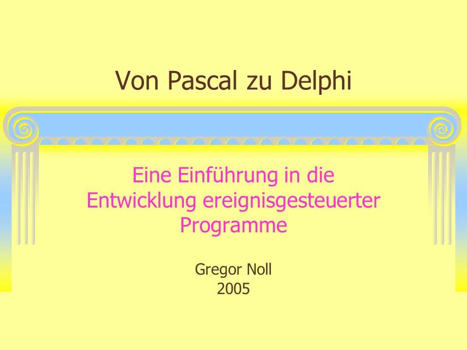 Eine Einführung in die Entwicklung ereignisgesteuerter Programme