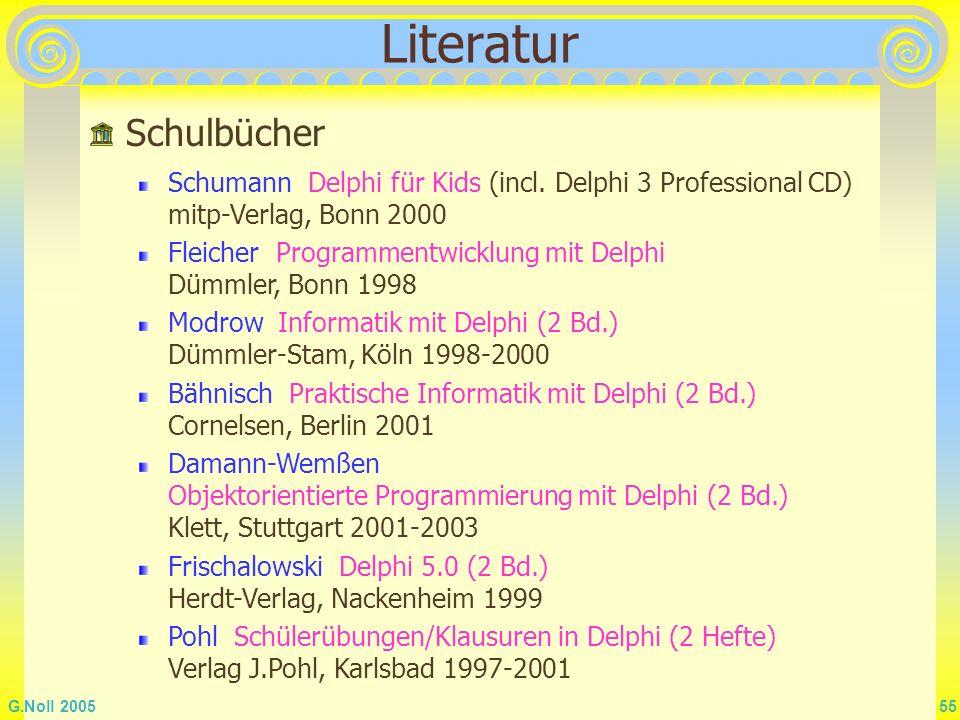 Literatur Schulbücher