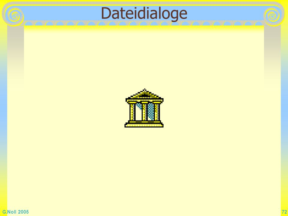 Dateidialoge