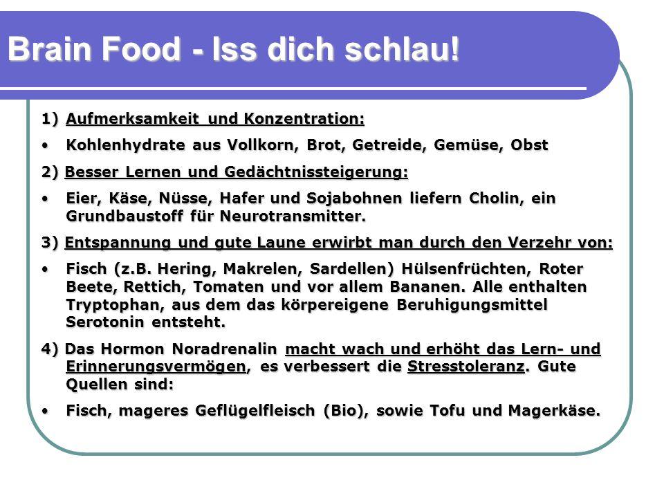 Brain Food - Iss dich schlau!