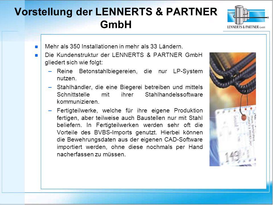 Vorstellung der LENNERTS & PARTNER GmbH