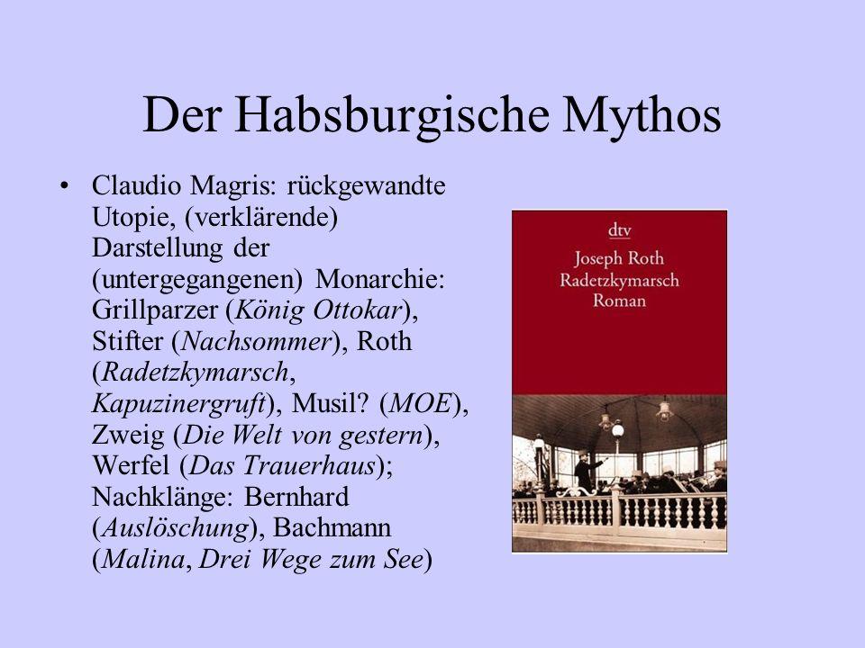 Der Habsburgische Mythos