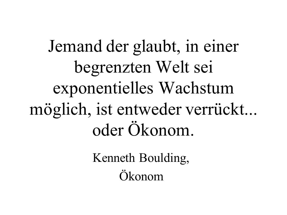 Kenneth Boulding, Ökonom