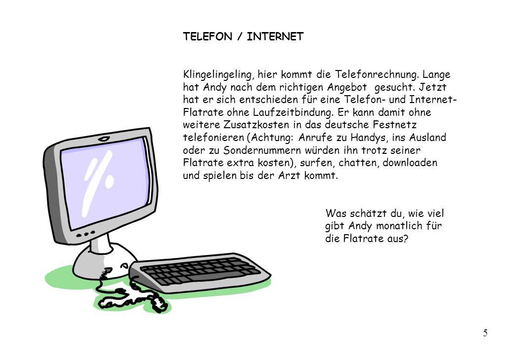 TELEFON / INTERNET
