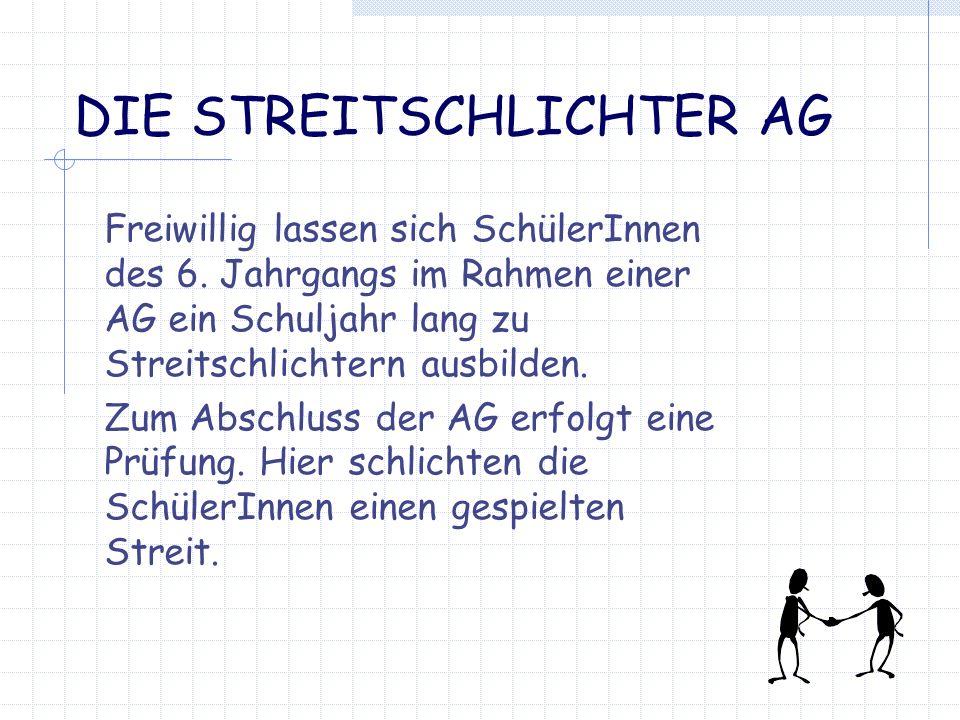 DIE STREITSCHLICHTER AG