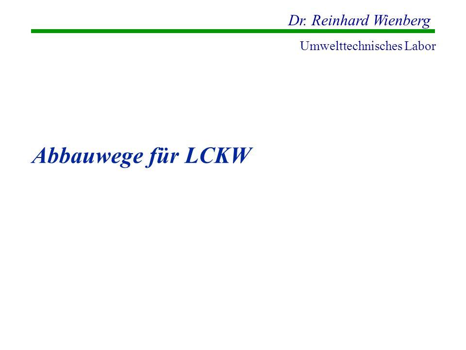 Abbauwege für LCKW