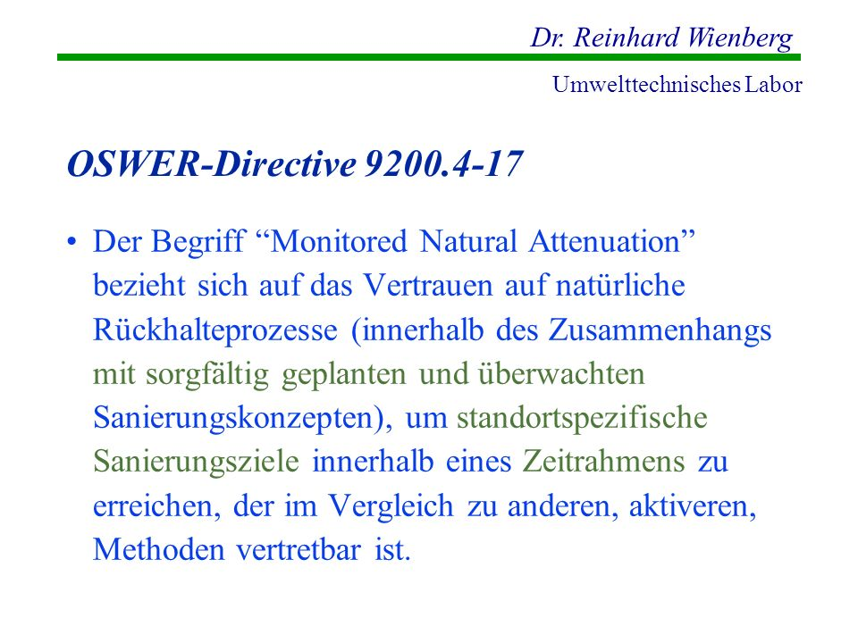 OSWER-Directive