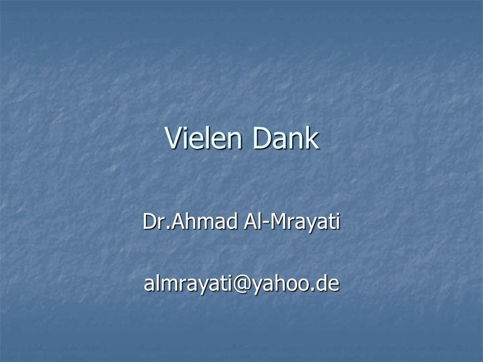 Dr.Ahmad Al-Mrayati almrayati@yahoo.de