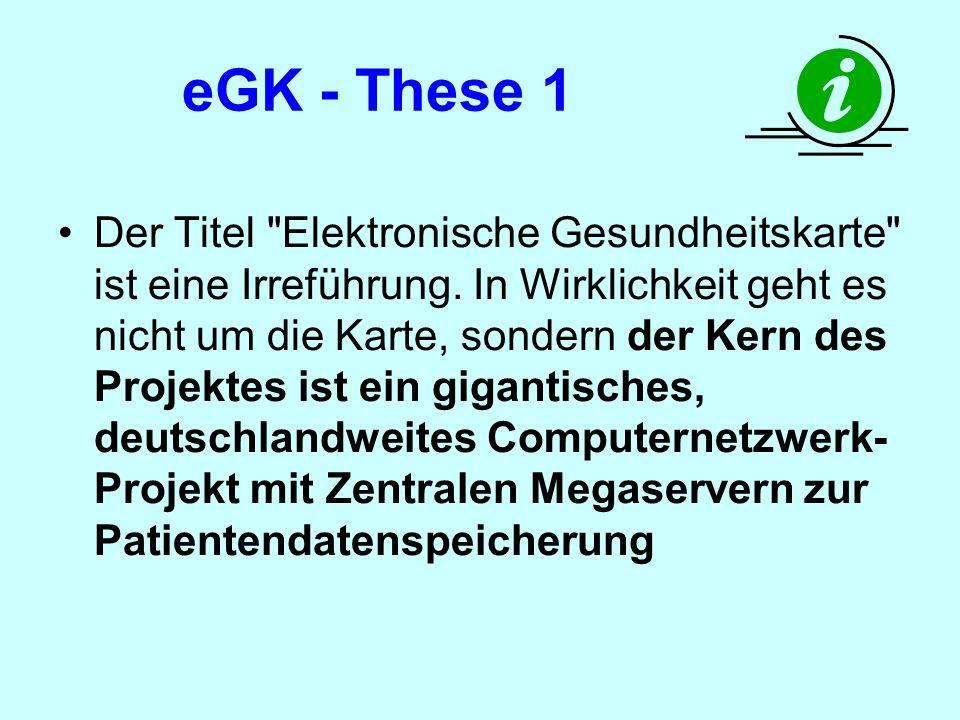 eGK - These 1