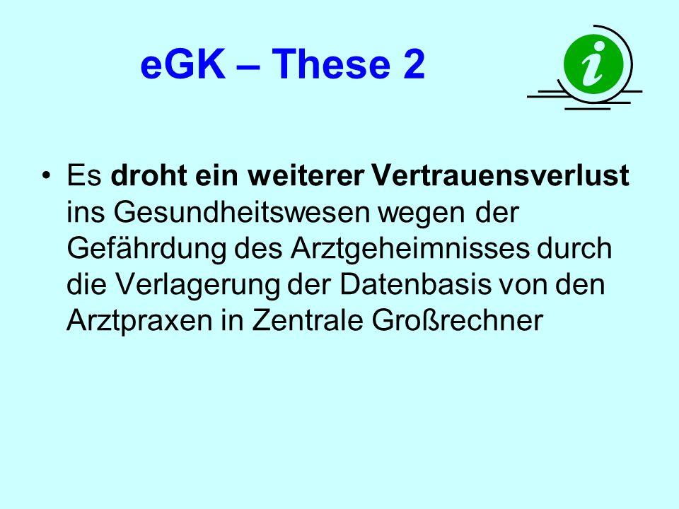 eGK – These 2