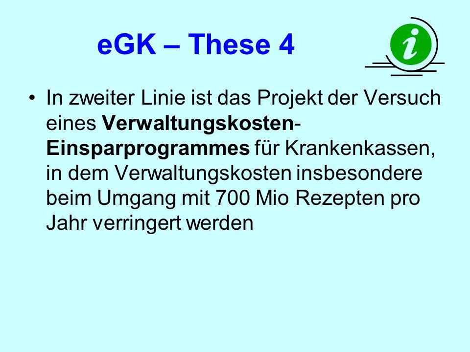 eGK – These 4