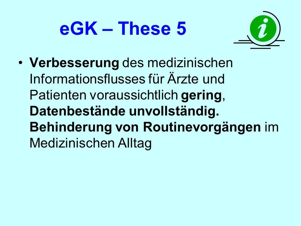 eGK – These 5